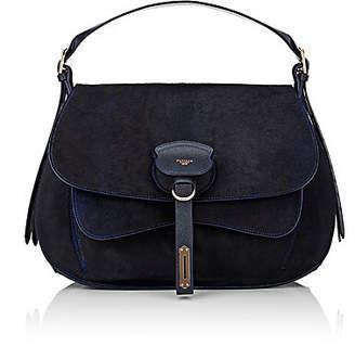 c55280014c Fontana Milano 1915 Women s Wight Medium Calf Hair Saddle Bag - Black