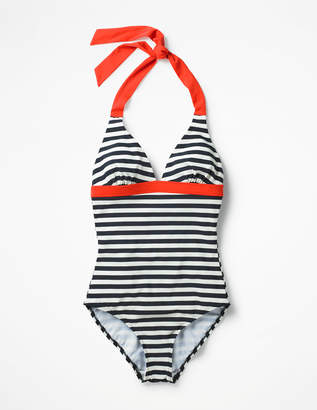 Boden Positano Halter Swimsuit