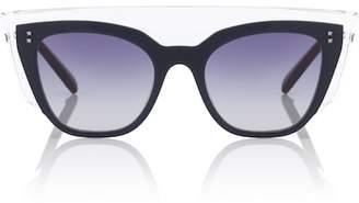 Valentino acetate sunglasses