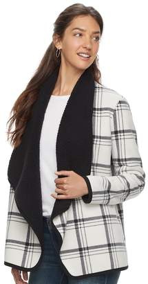 SONOMA Goods for Life Women's SONOMA Goods for LifeTM Sherpa Cardigan