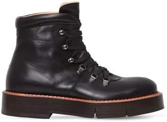 Robert Clergerie Callum Leather Trekking Boots