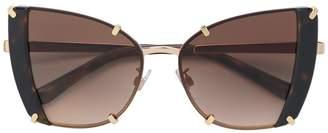Dolce & Gabbana Eyewear oversized cat eye sunglasses