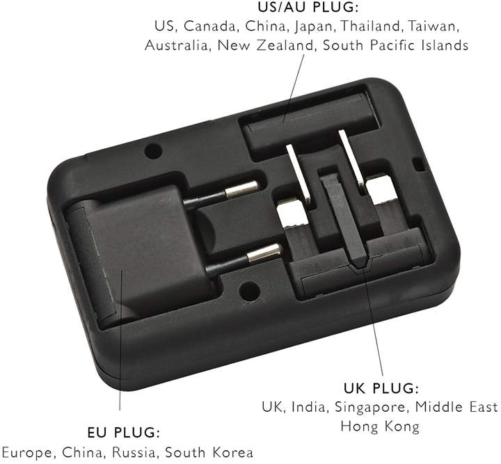 Stow Universal Travel Adapter