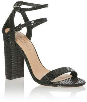 Next Womens Office Strappy Block Heel Sandals
