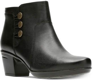 Clarks Women Emslie Monet Booties Women Shoes