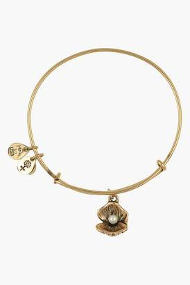 Alex and Ani Oyster Charm & Imitation Pearl Expandable Bangle $38 thestylecure.com
