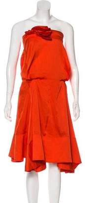 Sonia Rykiel Strapless Mini Dress