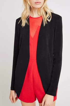 BCBGeneration Welt-Pocket Tuxedo Blazer $118 thestylecure.com