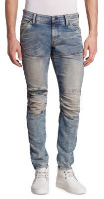 G-Star RAW Kamden Super Slim 5620 3D Zip-Knee Jeans $210 thestylecure.com