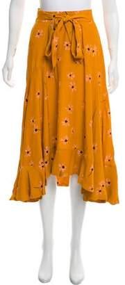 7a7cf4bf45 Faithfull The Brand Floral Print Midi Skirt w/ Tags
