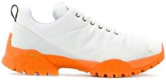 Roa contrast sole low top sneakers