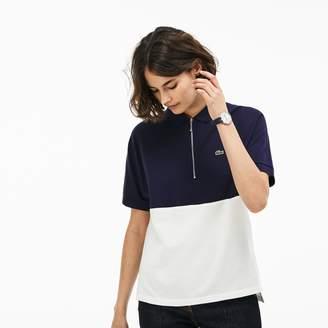 Lacoste Women's Slim Fit Petit Pique Polo
