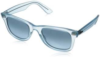 Ray-Ban Men's Original Wayfarer RB2140-6055/4M-50 Blue Wayfarer Sunglasses