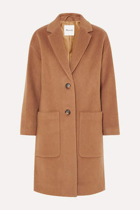 Madewell Monsieur Wool-blend Felt Coat - Camel