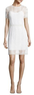MICHAEL MICHAEL KORS Crochet Lace Dress $225 thestylecure.com