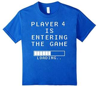 Player 4 Entering the Game Pregnant Announce t shirt