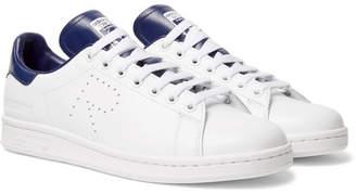 Raf Simons adidas Originals Stan Smith Leather Sneakers - Men - White
