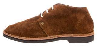 Brother Vellies Round-Toe Desert Boots