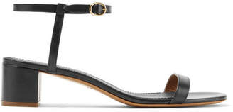 Mansur Gavriel Leather Sandals - Black