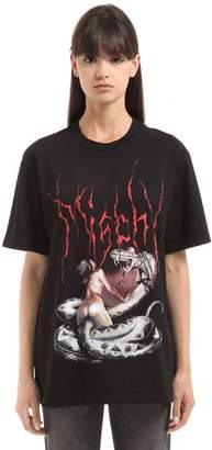 Misbhv Desire Printed Cotton Jersey T-Shirt