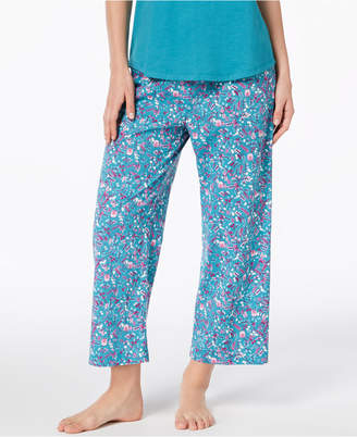 Charter Club Cotton Printed Pajama Pants, Created for Macy's