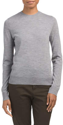 Merino Wool Skull Sweater