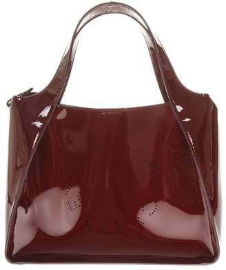 Stella McCartney Cherry Polyamide Holes Logo Bag
