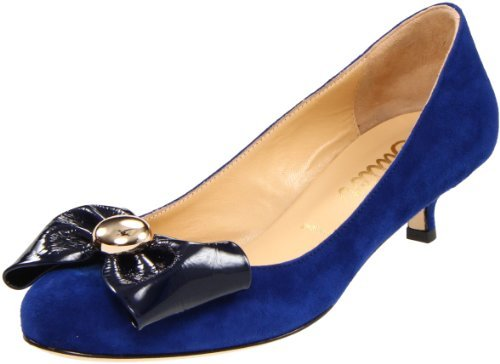 Butter Shoes Women's Spooner Bow Kitten-Heel Pump