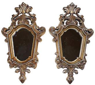 One Kings Lane Vintage Hollywood Regency Mirrors - Set of 2