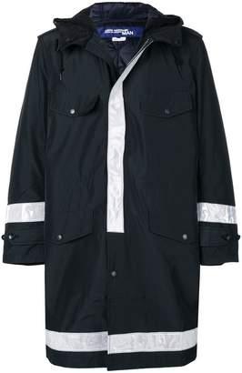 Junya Watanabe hooded midi raincoat