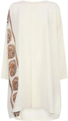 eskandar Longline Silk Shirt