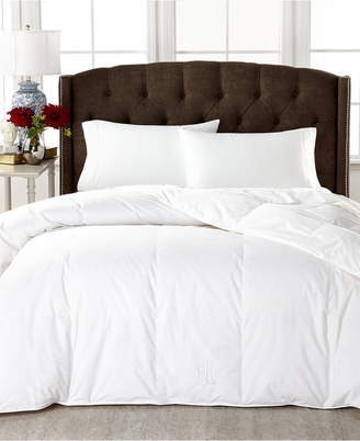 Lauren Ralph Lauren Medium Weight White Down Twin Comforter, 100% Cotton Cover