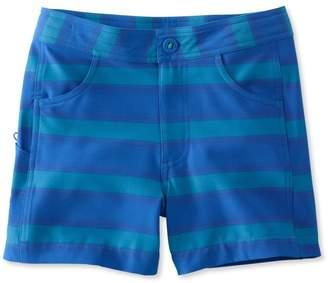 L.L. Bean L.L.Bean Girls Land-to-Sea Shorts, Stripe