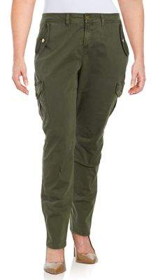 MICHAEL Michael Kors Plus Slim Cargo Pants