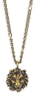 Gucci Necklace with Lion Head Pendant