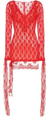 Christopher Kane Lace minidress