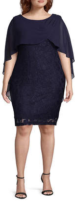 Melrose Sleeveless Party Dress-Plus
