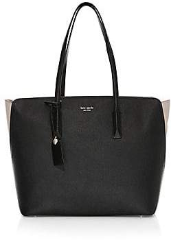 Kate Spade Women's Large Margaux Leather Tote