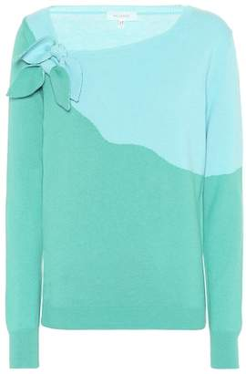 DELPOZO Cotton and cashmere sweater