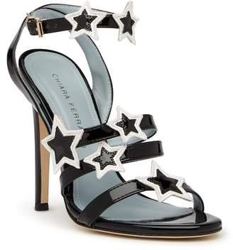 Chiara Ferragni Star Applique Stappy Stiletto Heel