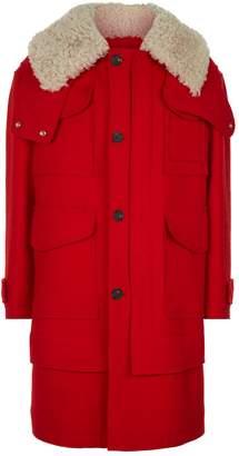 Alexander McQueen Wool Duffle Coat