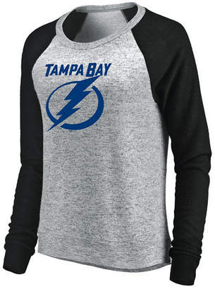 Majestic Women's Tampa Bay Lightning Cozy Crew Long Sleeve T-Shirt