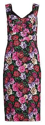 Escada Women's Dinavia Floral Sheath Dress