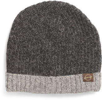 Chunky Ribbed Wool Blend Hat