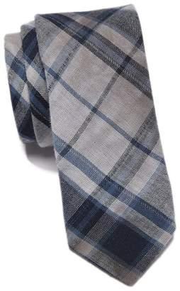 Original Penguin Lyman Plaid Skinny Tie