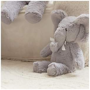 Pottery Barn Kids Plush Elephant Soft Toy, Small