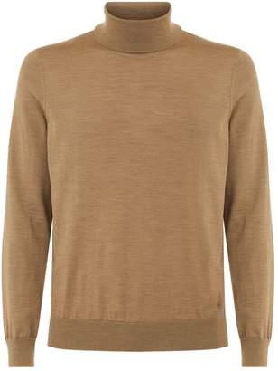Dunhill High Neck Merino Wool Sweater
