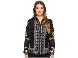 Versace Camicia Donna Tessuto Long Sleeve Print Shirt Women's Clothing