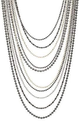Goossens Paris Women's Cascade Necklace - Silver
