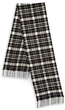 Saks Fifth Avenue COLLECTION BY JOHNSTONS Boucle Tartan Scarf